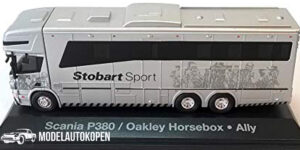 Scania P380 Oakley Horsebox, Ally - Stobart 1:76