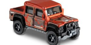 15 Land Rover Defender Double Cab - Hot Wheels 1:64