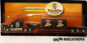 Vrachtauto Hohenfelder, Schwarzbier met trailer - 1:87
