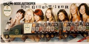 Vrachtauto Meininger Privat Brauerei met trailer - 1:87
