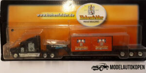 Vrachtauto Hohenfelder Winter-Spezialität met trailer - 1:87