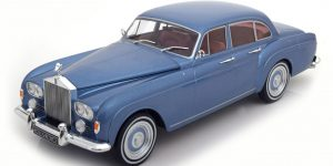 Rolls Royce Silver Cloud III Flying Spur 1965 Blue - Model Car Group 1:18