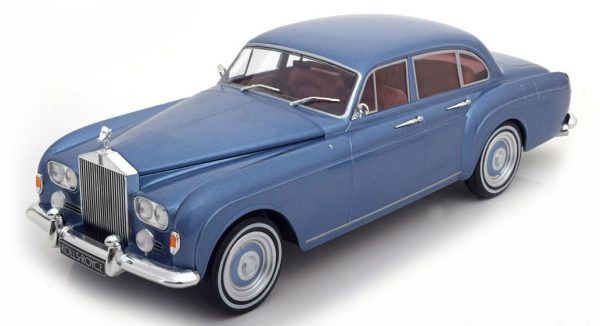 Rolls Royce Silver Cloud III Flying Spur 1965 Blue - Model Car Group 1:18