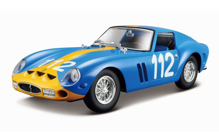 Ferrari 250 GTO (Racing Collectie) - Bburago 1:24