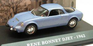 Rene Bonnet Djet Sport Coupe 1962 - Atlas 1:43