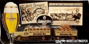 Vrachtauto Hohenfelder Pilsener met trailer - 1:87
