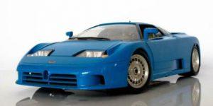 Bugatti EB 110 1991 Blue - Bburago 1:18