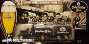 Vrachtauto Hohenfelder Bier met trailer - 1:87