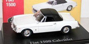 Fiat 1500 Cabriolet - Atlas 1:43