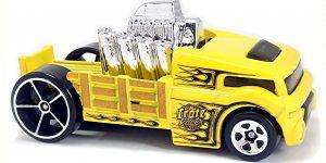 Crate Racer (geel) - Hot Wheels 1:64