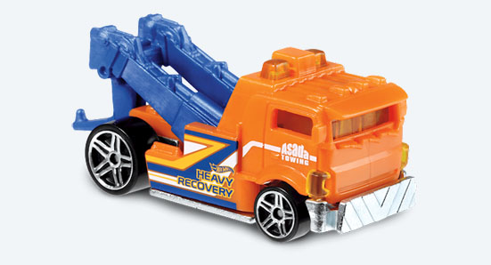Heavy Hitcher - Hot Wheels 1:64