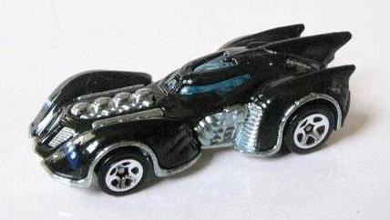 Batman Arkham Asylum Batmobile - Hot Wheels 1:64