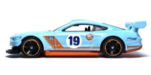 Custom 18 Ford Mustang GT (Gulf Collection) - Hot Wheels 1:64