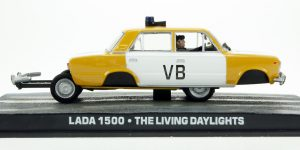 Lada 1500, James Bond 007 The Living Daylights - Atlas 1:43