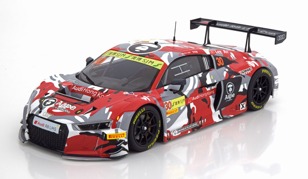 Audi R8 LMS (Limited Edition) Red - MiniChamps 1:18