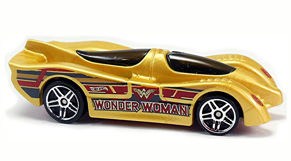 Power Pistons, Wonder Woman - Hot Wheels 1:64