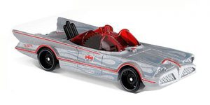 TV Series Batmobile - Hot Wheels 1:64