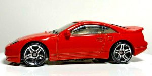 Nissan 300ZX Twin Turbo - Hot Wheels 1:64