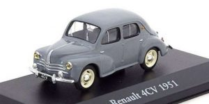 Renault 4CV 1951 - Atlas 1:43