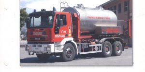 Camion citerne Iveco 380E 1996 Italië - del Prado 1:64