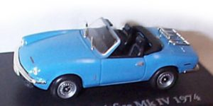 Triumph Spitfire MK IV Cabriolet 1974 - Atlas 1:43