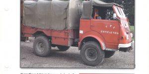 Camion Totu Usage 4x4 1954 - del Prado 1:50