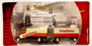 Vrachtauto Schultheiss met trailer - 1:87