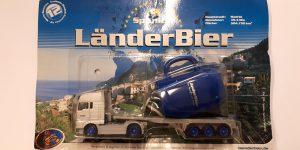 Vrachtauto LänderBier (Madrid) met grote trailer - 1:87