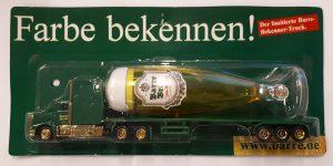 Vrachtauto Barre Bräu met trailer - 1:87