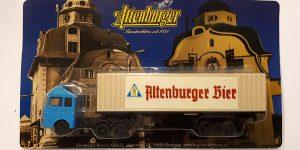 Vrachtauto Altenburger Bier met trailer - 1:87
