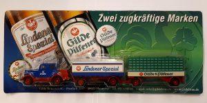 Vrachtauto Lindener Spezial met trailer - 1:87