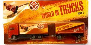 Vrachtauto Coca Cola met trailer - 1:87