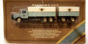Vrachtauto Altenmünster met trailer - 1:87