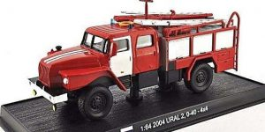 Ural 2, 0-40-4x4 2004 - del Prado 1:64