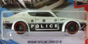 Nissan Skyline 2000 GTR - Hot Wheels 1:64