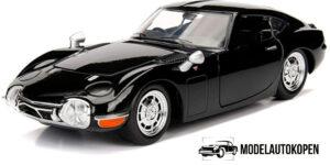 1967 Toyota 2000GT (Zwart) - Jada 1:32