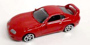 Toyota Supra (Rood) - Motor Max 1:64