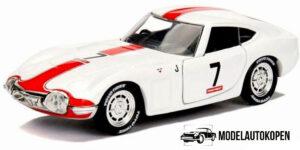 1967 Toyota 2000GT (Wit) - Jada 1:32