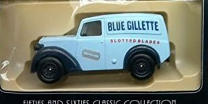 Days Gone 1950 Morris Z Van Blue Gilette - Lledo 1:43