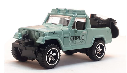 67 Jeepster Commando - Hot Wheels 1:64