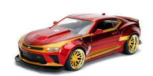 Iron Man & 2016 Chevy Camaro - Jada 1:24