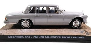 Mercedes 600 - On her Majesty's Secret Service 007 - Altaya 1:43