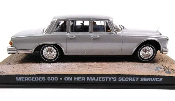 Mercedes 600 - On her Majesty's Secret Service 007 - Altaya 1:43