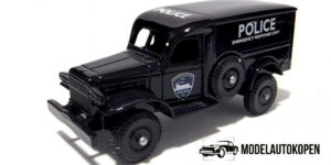 Days Gone 1942 Dodge 4x4 Police Van - LLedo 1:43