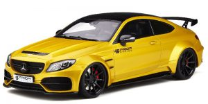 Mercedes C Class Coupé 63 AMG Prior Design - GT Spirit 1:18