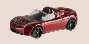 Tesla Roadster with Starman - Hot Wheels 1:64