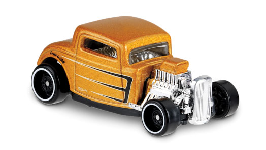 32 Ford (Gold) - Hot Wheels 1:64