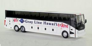 Van Hool CX-45 Motorcoach (Gray Line Hawai'i)- 1:87