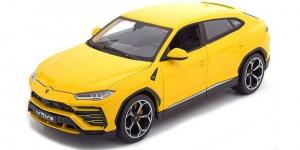 Lamborghini Urus (Geel) - Bburago 1:18