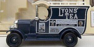 1926 Bull Nose Morris Van (Lyon's Tea) - LLedo 1:43